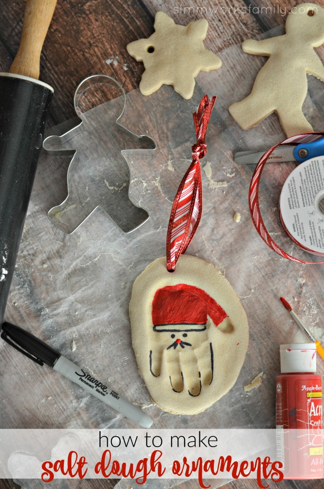 How To Make Salt Dough Ornaments - a simple craft for kids of any age