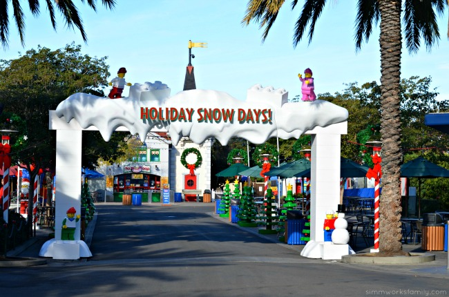 Legoland CA Holiday Snow Days