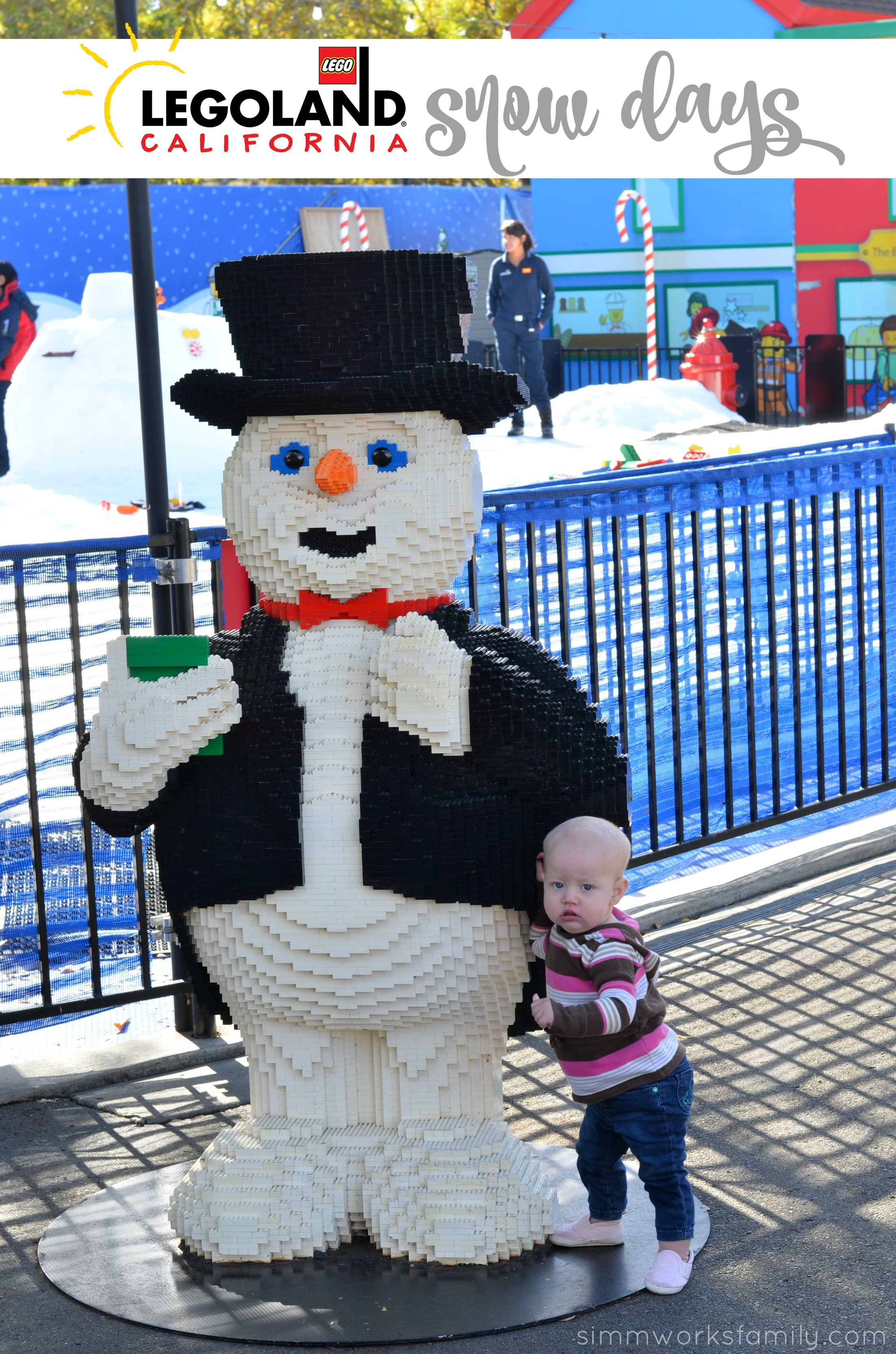 Legoland California Holiday Snow Days 2015