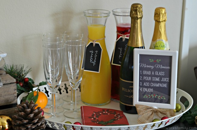 A Colorful Affair Adult Coloring Party with mimosas