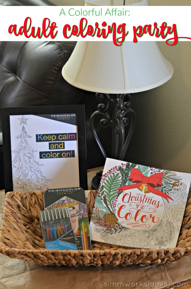 A Colorful Affair Adult Coloring Party