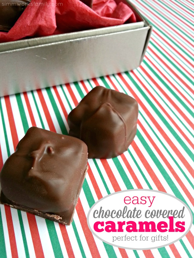 Chocolate Covered Caramel Candies - perfect for gifts