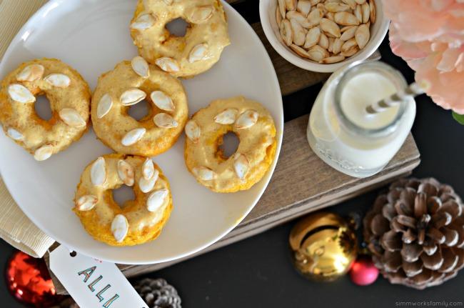 Keto Friendly Pumpkin Donuts - the perfect LCHF pumpkin treat during the holidays