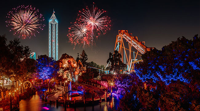 Knott's New Year's Eve Fireworks