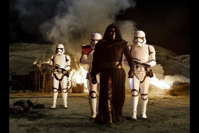 Star Wars The Force Awakens - Dark Side