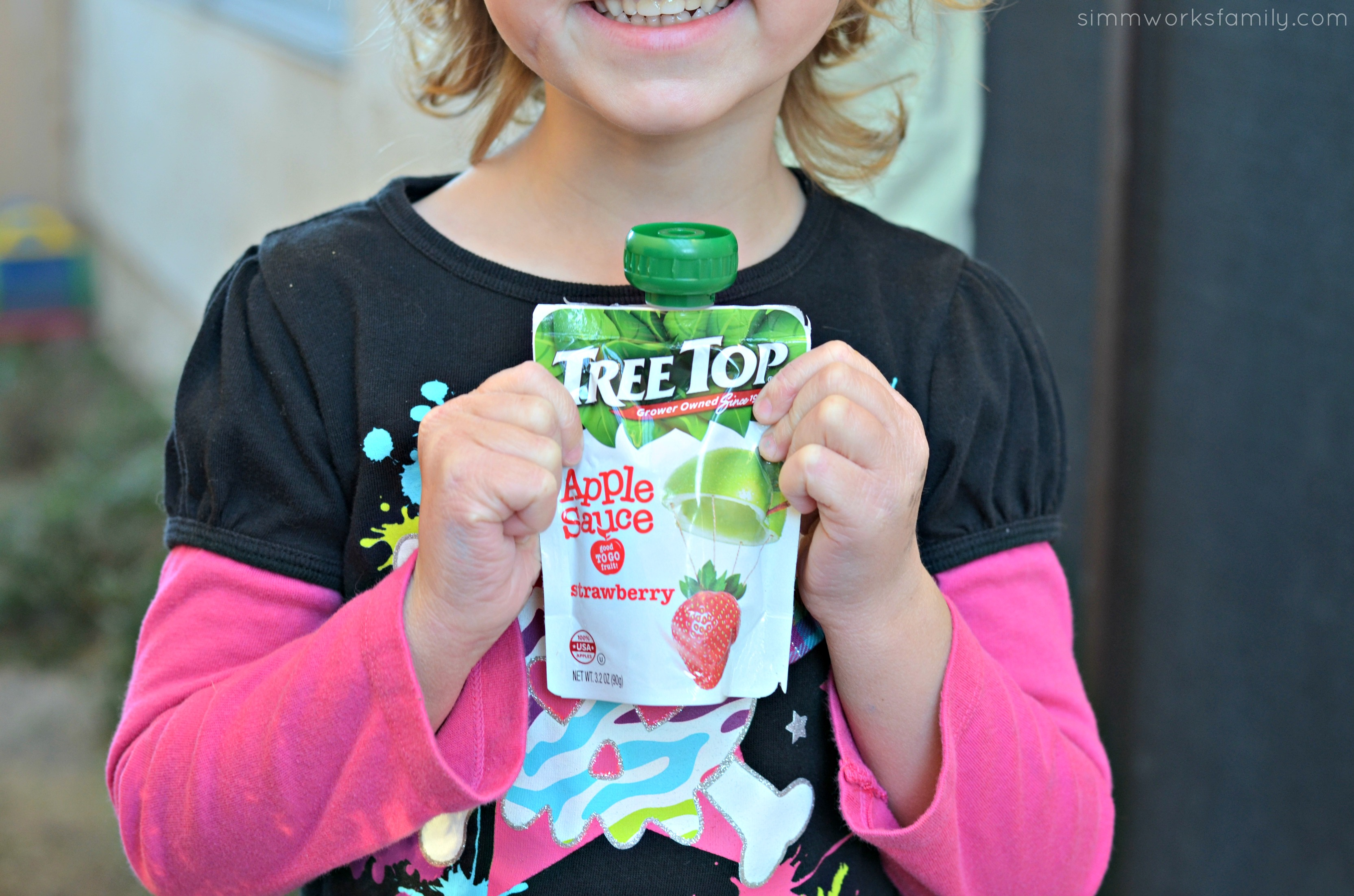 After School Snack Hacks - Tree Top Apple Sauce Pouches