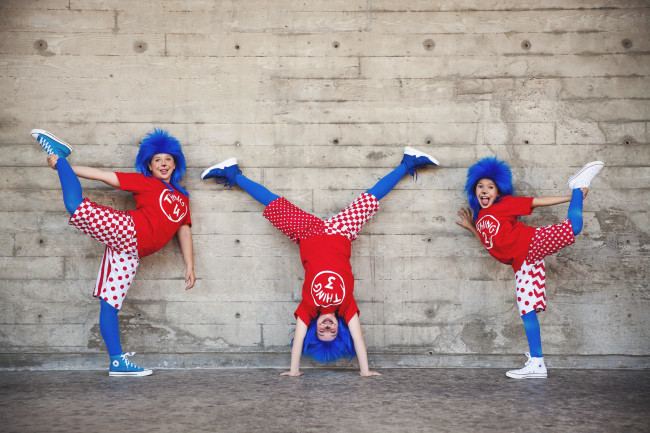 J*Company Youth Theater Presents Seussical Jr. In San Diego - Thing One Thing Two