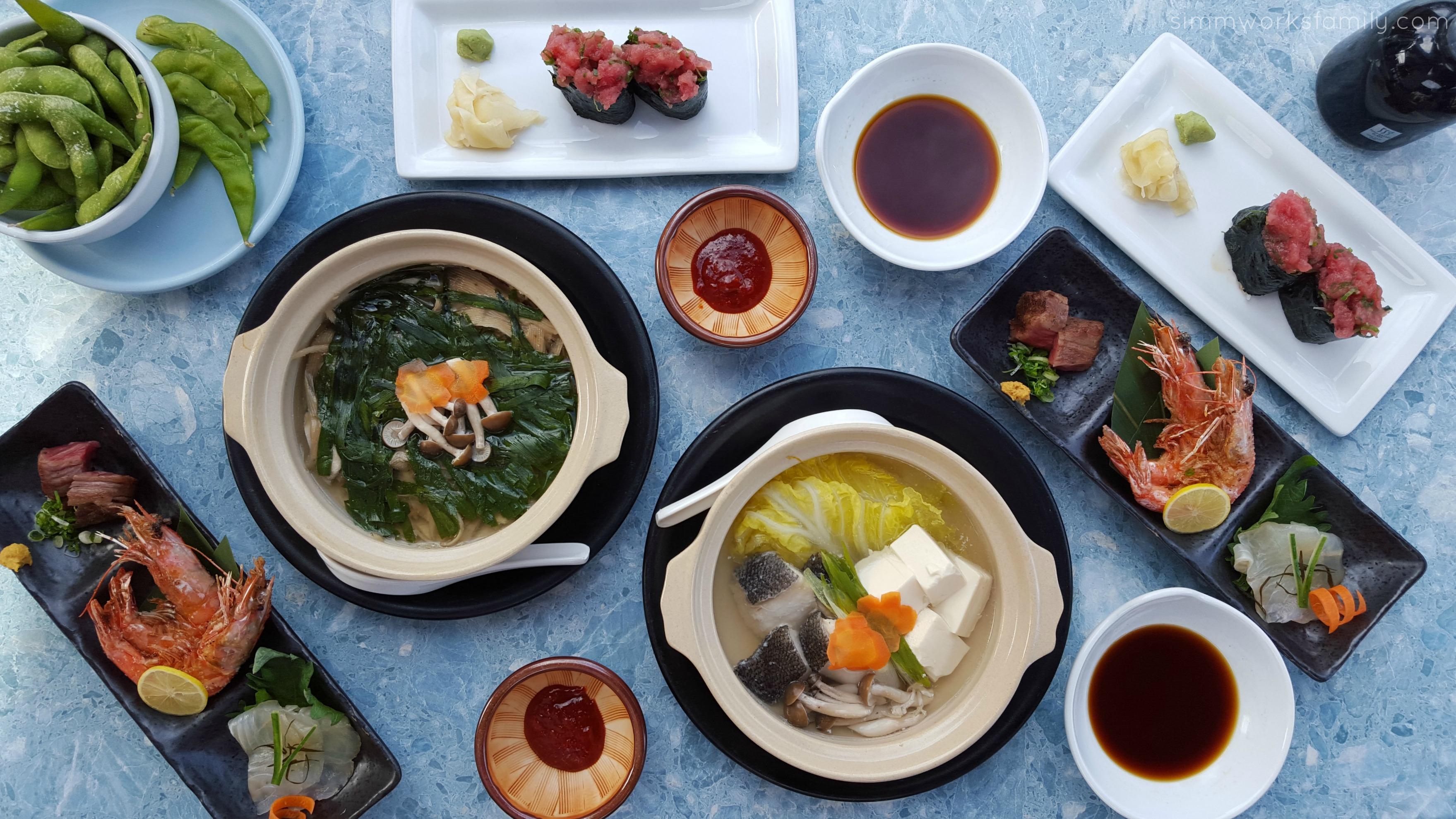 SHIMBASHI Izakaya  San Diego Restaurant Week Menu
