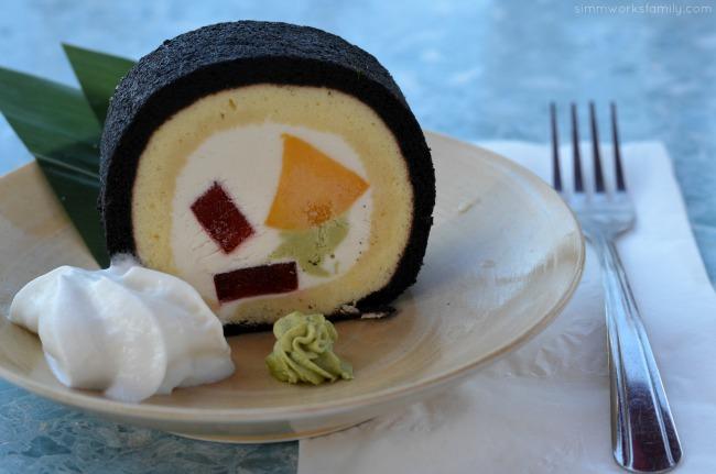 SHIMBASHI Izakaya sushi roll cake dessert