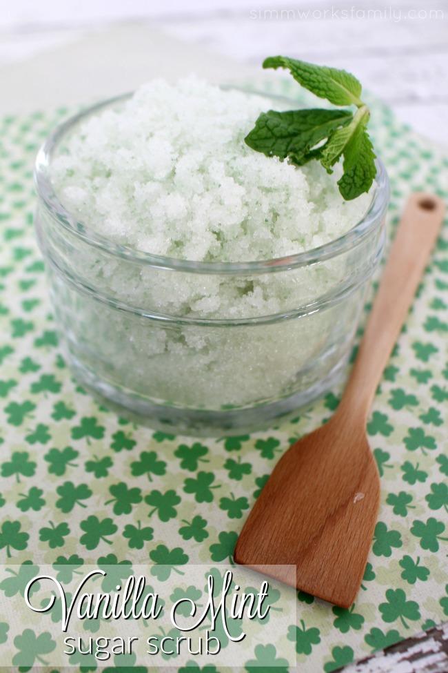 Vanilla Mint Sugar Scrub