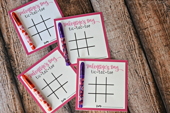 A Dare from United Healthcare + Tic Tac Toe Valentines Day Printables