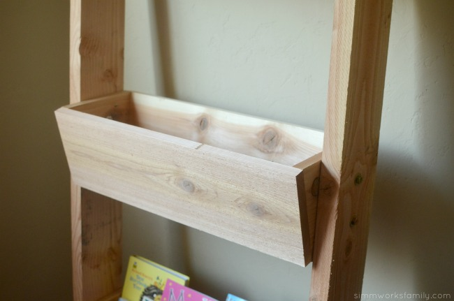 DIY Vertical Toy Storage close up of boxes
