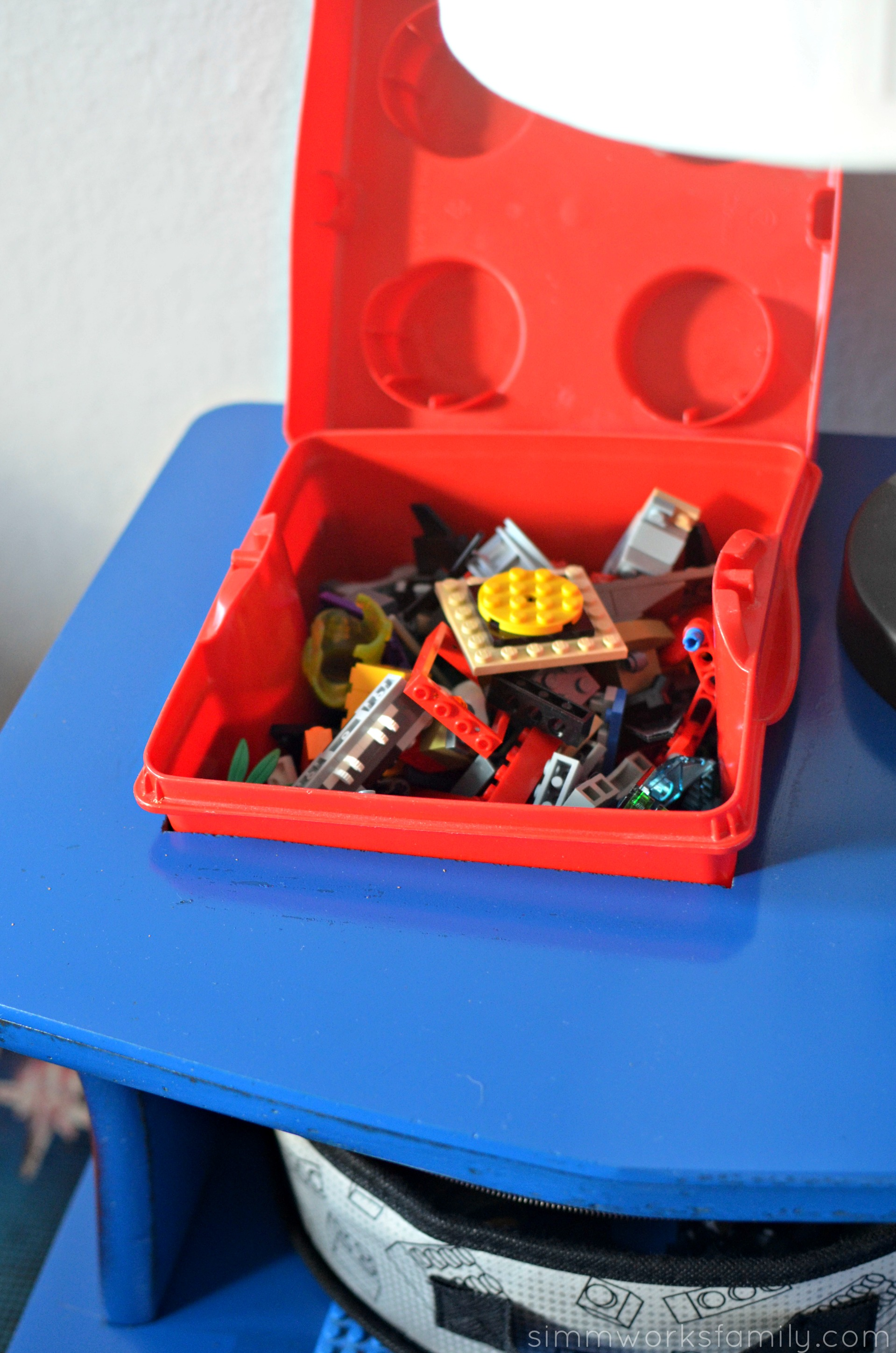 DIY Lego Side Table - built in LEGO box