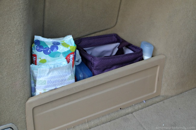Road Trip Tips Traveling with Baby - diaper changing station