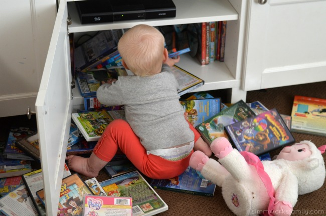 Tips for Working At Home With A Toddler - ways to make life easier when working with a toddler