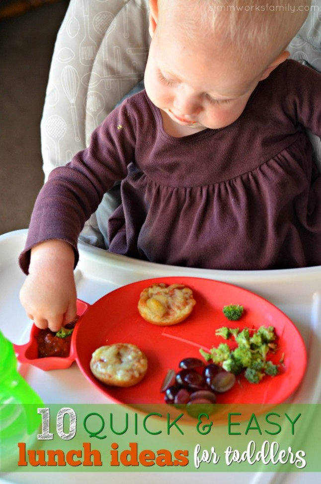 10 Quick and Easy Lunch Ideas for Toddlers