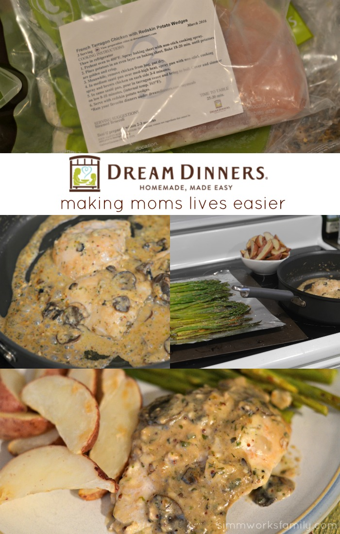 Dream Dinners - Making Moms Lives Easier