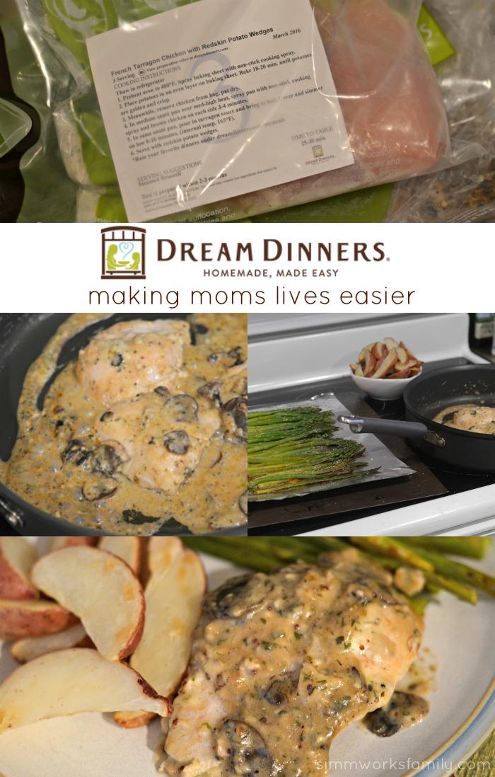 Dream Dinners - Making Moms Lives Easier