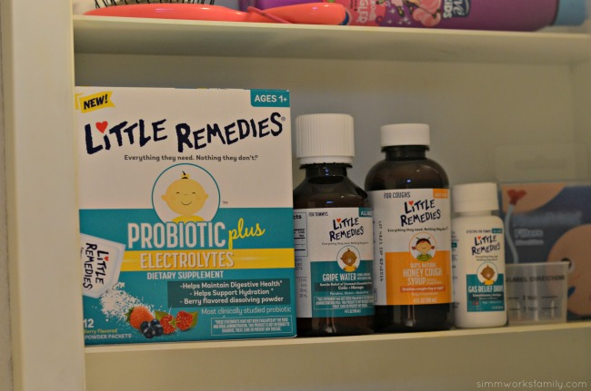Medicine Cabinet Essentials For Baby - Little Remedies line