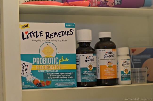 Medicine Cabinet Essentials For Baby - Little Remedies line