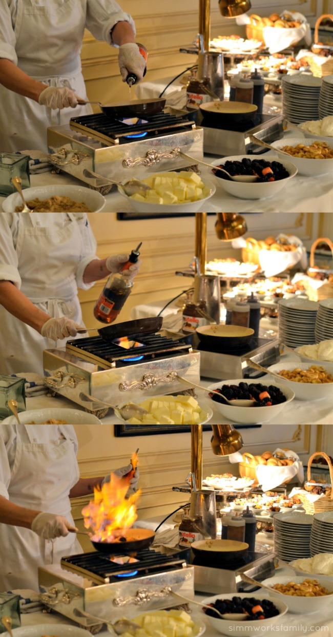 Mother's Day Brunch at the Westgate Hotel - crepe station
