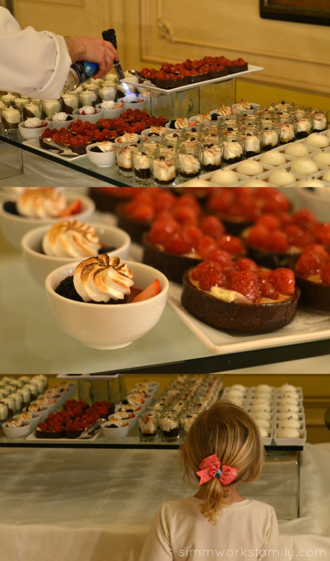 Mother's Day Brunch at the Westgate Hotel - desserts