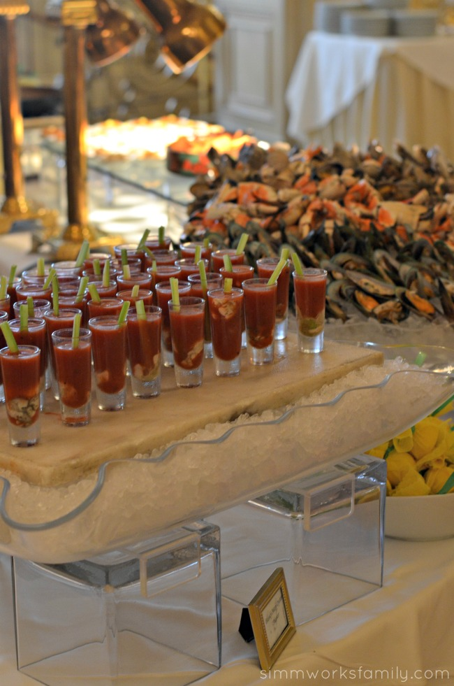 Mother's Day Brunch at the Westgate Hotel - seafood