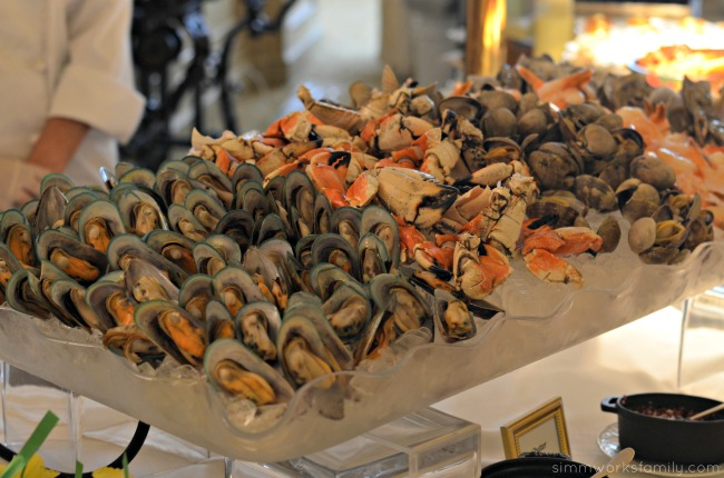 Mother's Day Brunch at the Westgate Hotel - shellfish