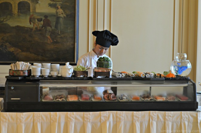 Mother's Day Brunch at the Westgate Hotel - sushi bar