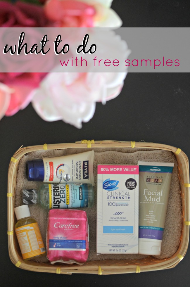 What to Do With Free Samples 650x982