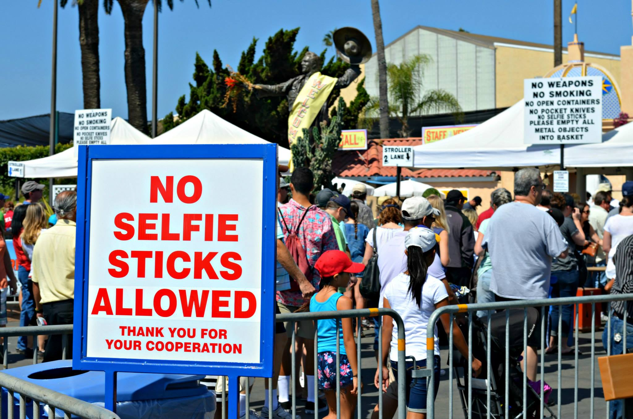 Ways to Save At the San Diego County Fair selfie sticks