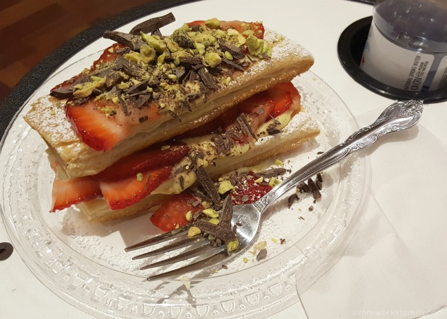 Carlsbad Strawberry Napoleons by Chef Guillas