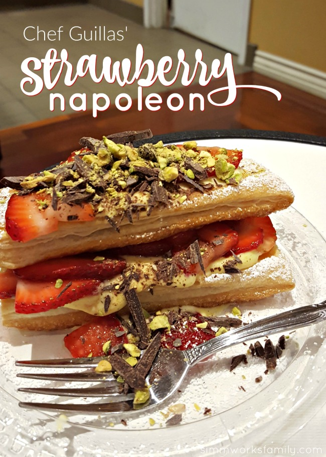 Chef Guillas' Strawberry Napoleon