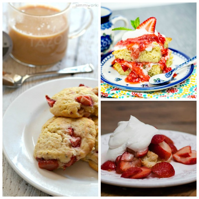 Strawberry Shortcake Day recipes