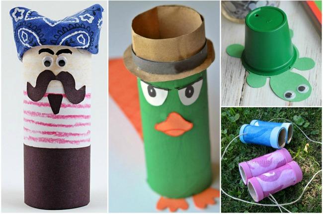 Summer Crafts for Kids toilet roll crafts