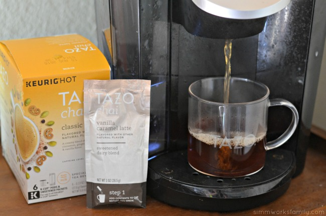 Tazo Chai Classic Latte in the Keurig