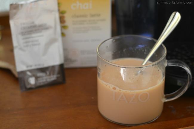 Tazo Chai Classic Latte