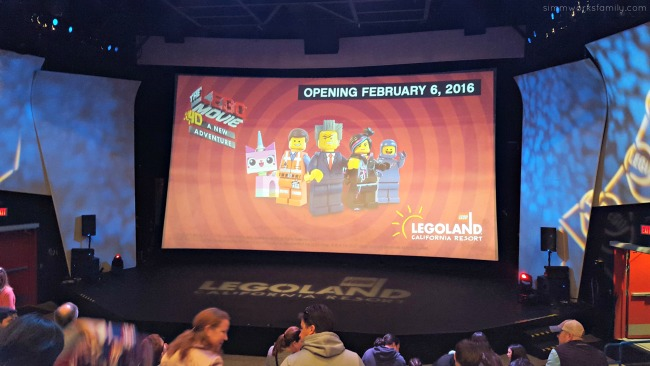 The LEGO Movie 4D A New Adventure at Legoland California opens February 6