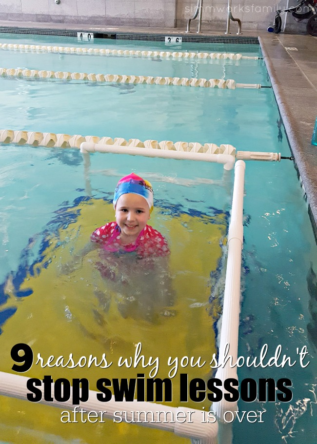 9 Reasons Why You Shouldn't Stop Swim Lessons After Summer