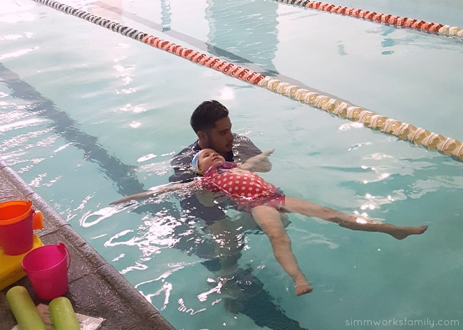 Why You Shouldn't Stop Swim Lessons After Summer - floating