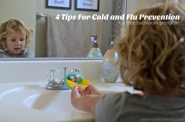 4 Tips For Cold and Flu Prevention