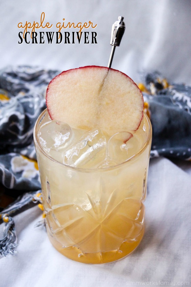 Apple Ginger Screwdriver