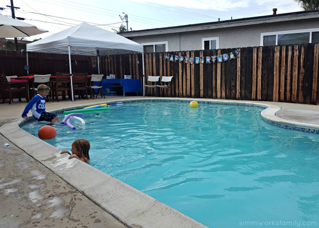 Pool Party Etiquette Plus A Simple Solution To Party Gifts