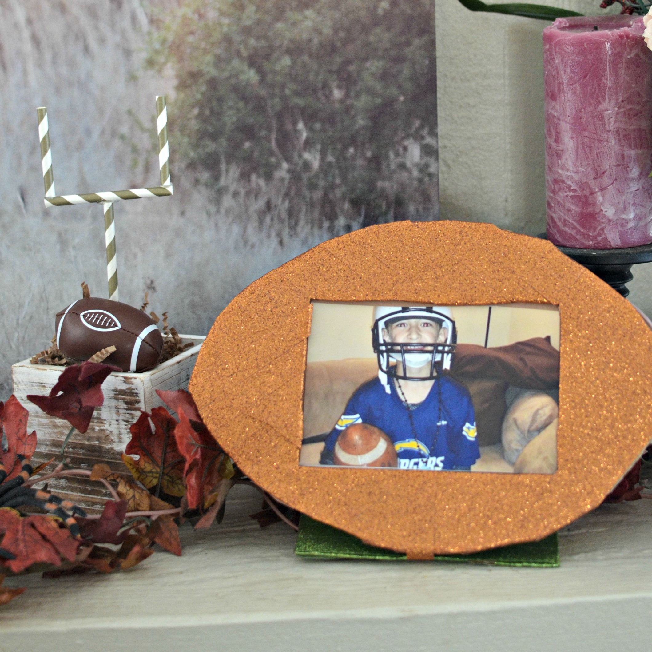 Are You Ready For Some Football Diy Football Photo Frame