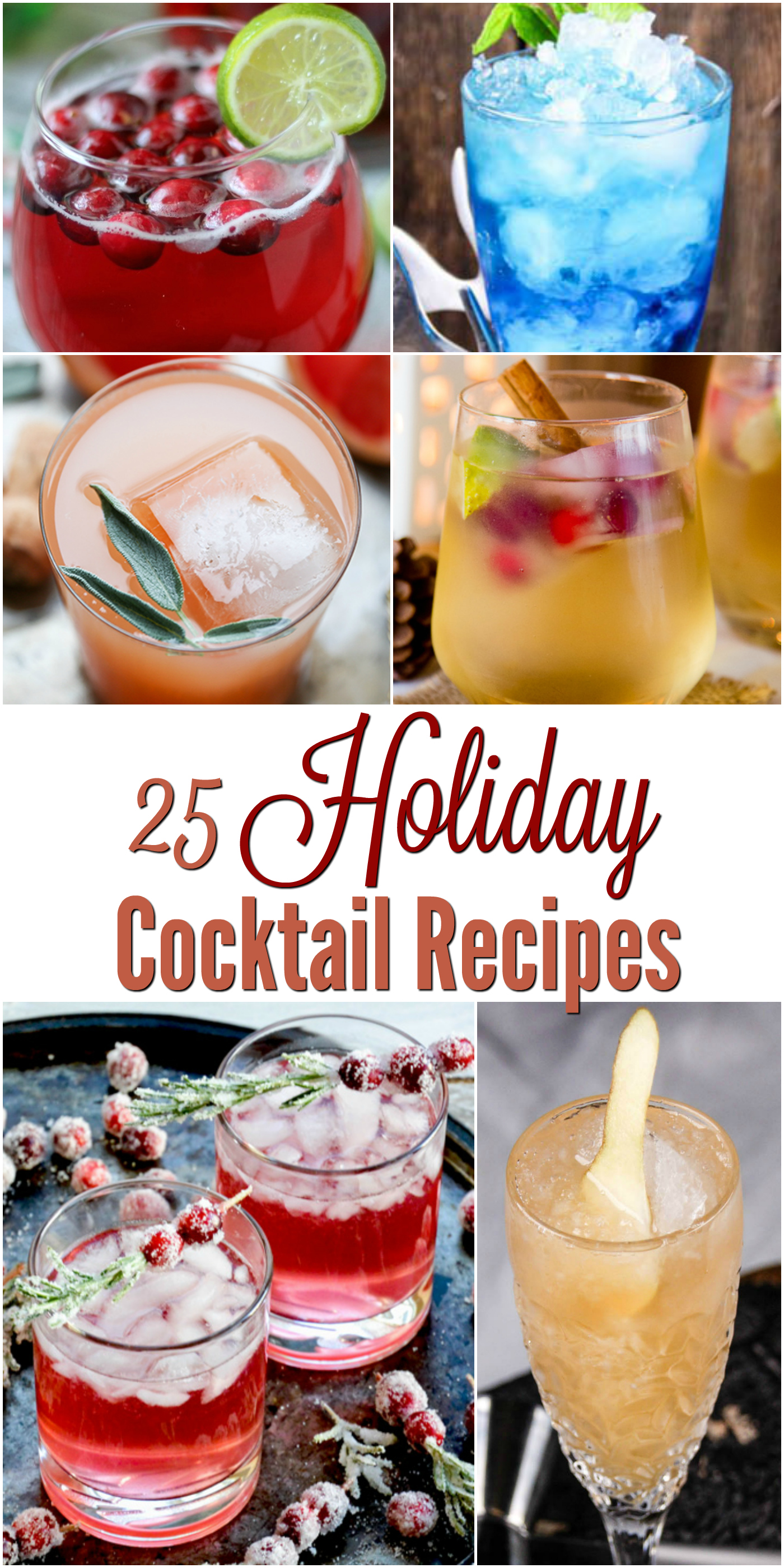holiday cocktail recipes