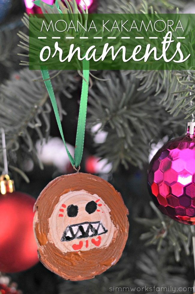 Brighten your Christmas tree this year with some Moana Kakamora Coconut Ornaments inspired by Disney's newest film Moana!