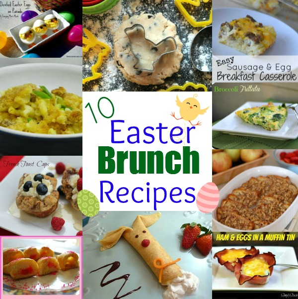 20 easter brunch recipes Fun easter brunch ideas