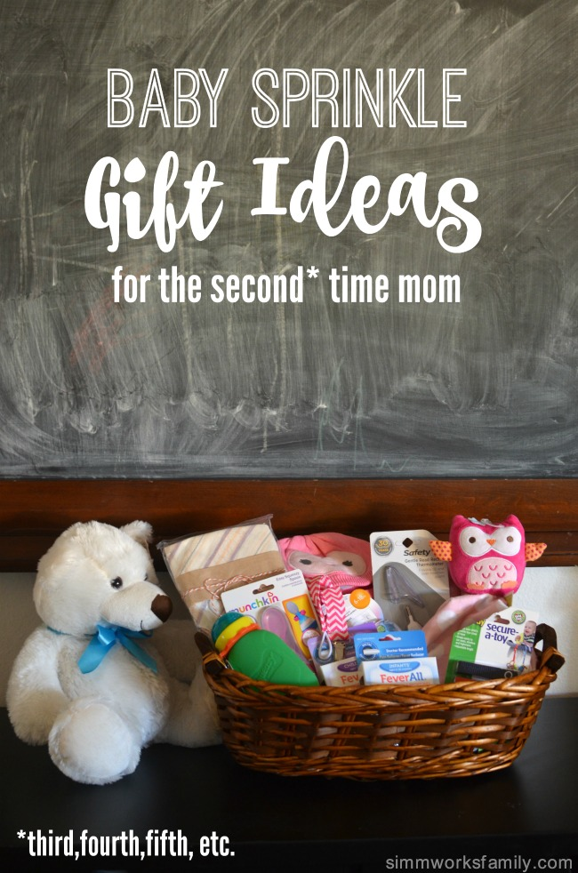 Baby Sprinkle Gift Ideas for the Second Time Mom | A Crafty Spoonful