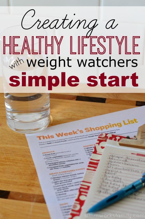 weight watchers simple start pdf