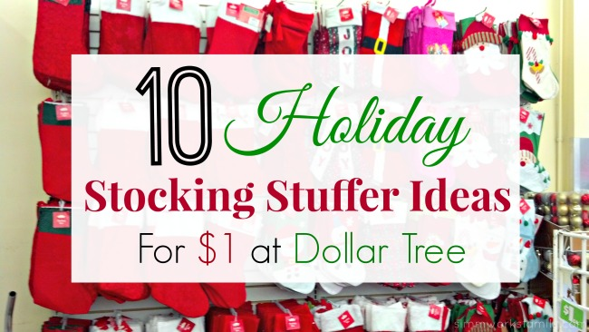 10 holiday stocking stuffer ideas from dollar tree a crafty spoonful - Stocking Stuffer Idea